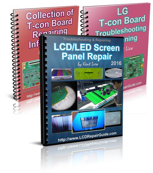 lcd led screen panel repair troubleshooting repairing